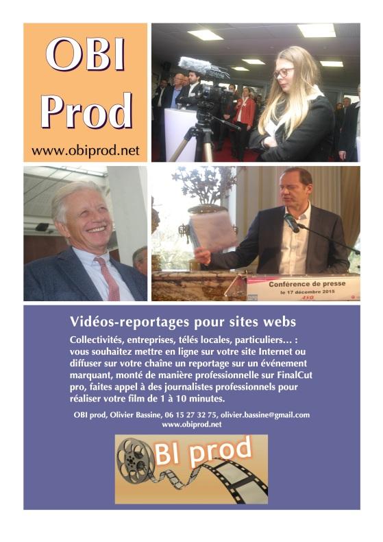 Plaquette OBI prod